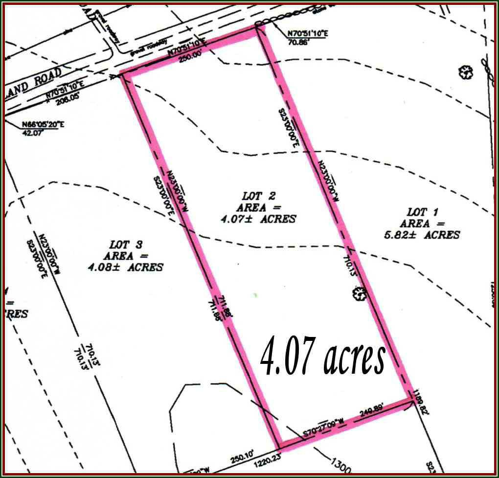 4.07 Acres, Lot#2 Holland Rd, North Creek